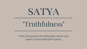 1.2. Yama: Satya - Truthfulness
