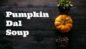 Pumpkin Dal Soup