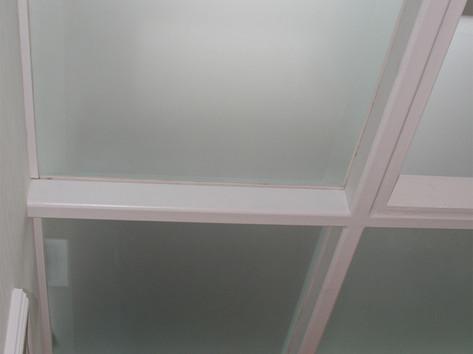 Glass floors
