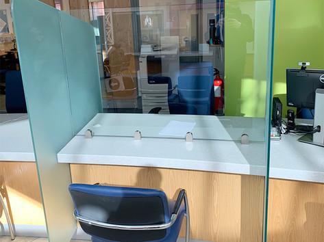 Toughened glass Covid screens