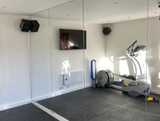 Gym mirror walls