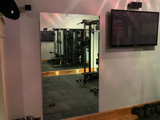 Gym mirrors made to measure