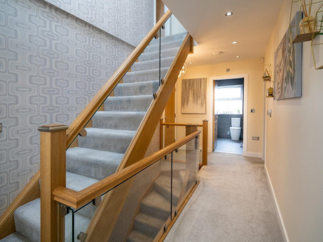 Swap your spindles to a glass staircase for an easy home transformation