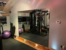 Custom gym mirrors