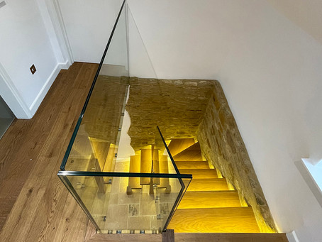 Glass balustrades: What are the main benefits of glass balustrades for stairs?
