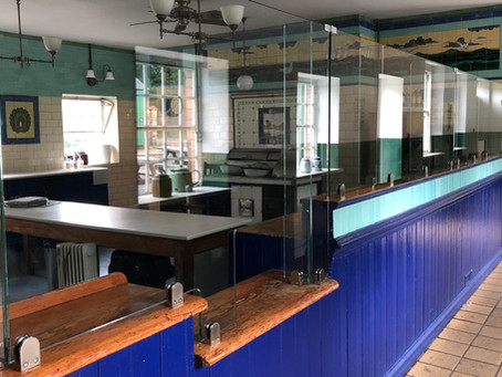 Covid screens case study: A modern solution for Beamish Museum's historic exhibits