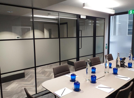 Revamp your office space with glass partitioning