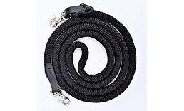 Black Rope Reins with scissor snaps