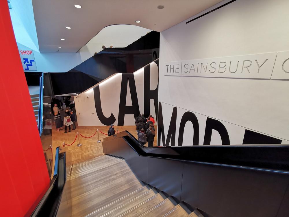 Sainsbury gallery, V&A museum
