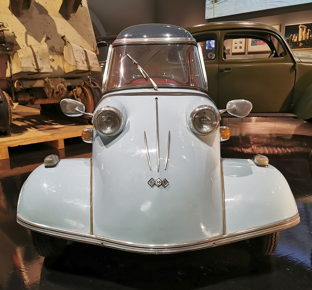 Messerschmitt KR200 Bubble car.