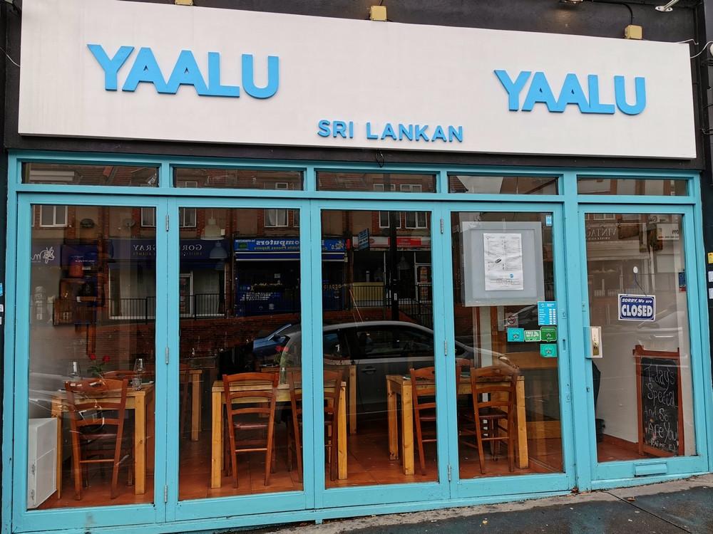 Yaalu Yaaul restaurant frontage