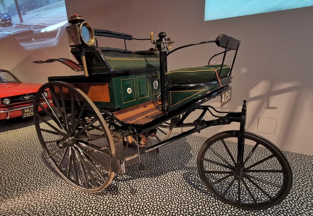 1899 Benz motor car