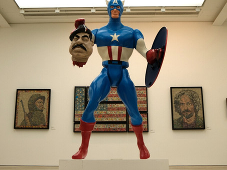 American history RemiX at the Saatchi gallery by Ben Turnbull.