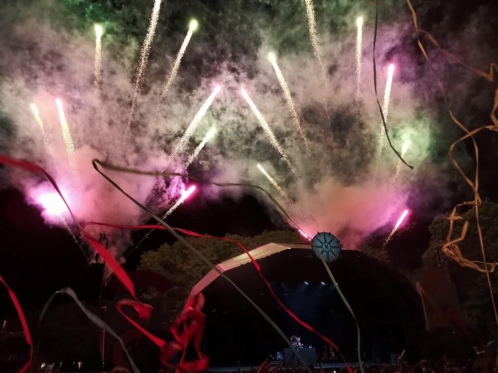 Fireworks at Neverworld 2019