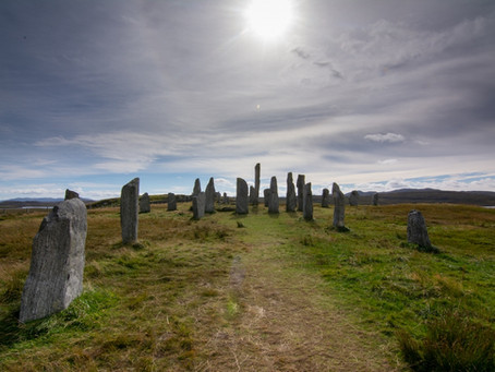 Scottish Road Trip Nights 5,6 and 7: The Outer Hebrides; Standing Stones, Beaches, and Gin.