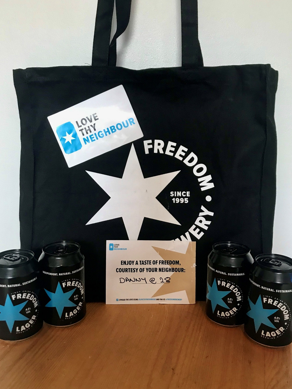 Freedom lager pack