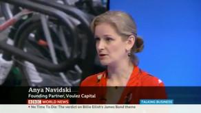 Voulez Capital on BBC news