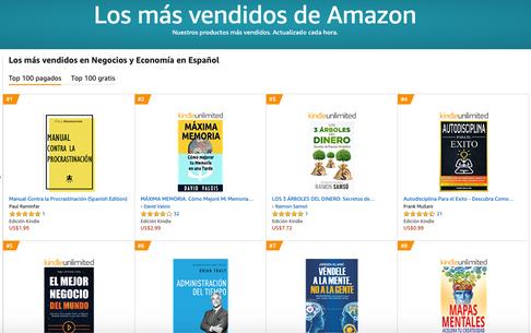 #1 más vendido en Amazón con Manual Contra la Procrastinación