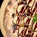 チョコバナナピザ