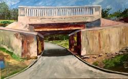 graffiti bridge-walls