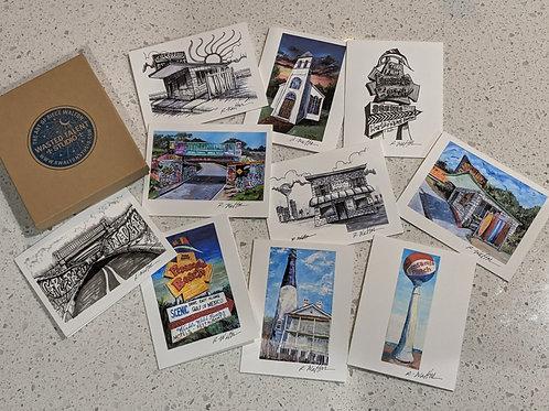 Pensacola Notecard Series - Set of 10