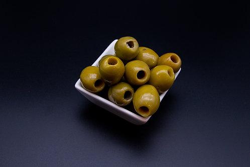 Grüne Oliven ohne Kern (200g)
