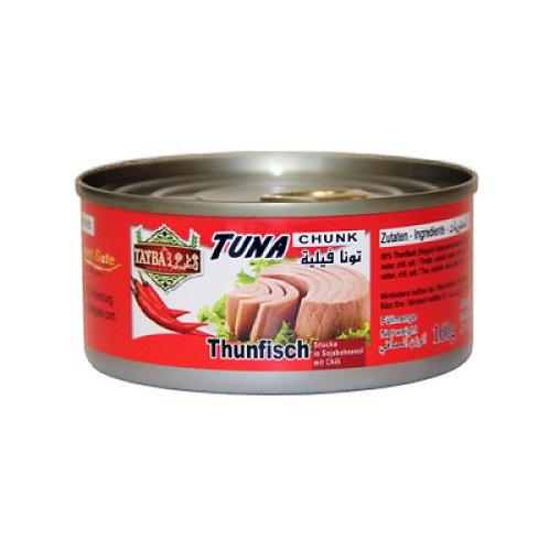 Tayba Thunfisch mit Chilli (160 g)