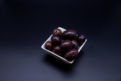 Schwarze Oliven Groß ohne Kern (100g)