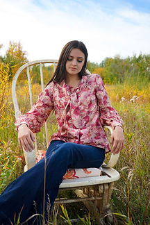flower 70s style blouse shirt made in ireland workwear.jpg