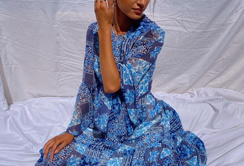 Chefchaouen Midi Dress