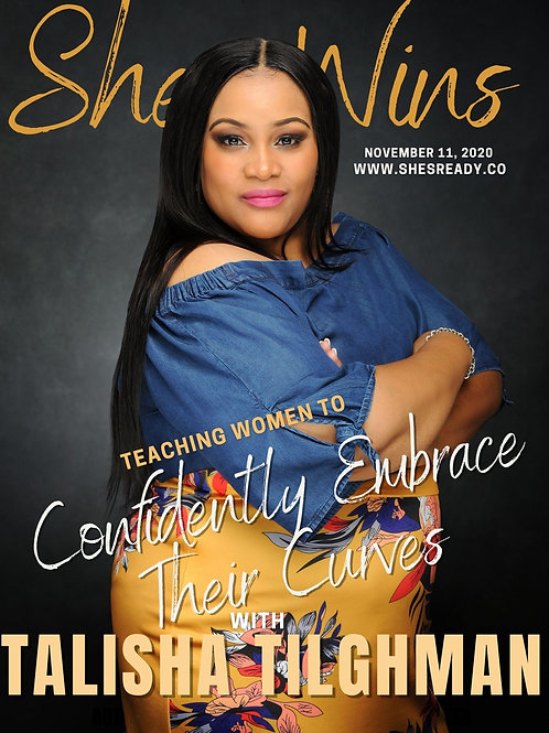 She Wins Magazine-Talisha Tilghman