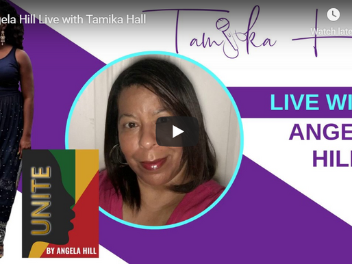 Angela Hill Live with Tamika Hall