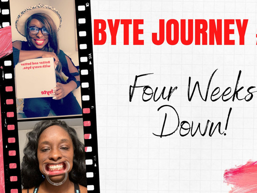 Byte Journey: Four Weeks Down
