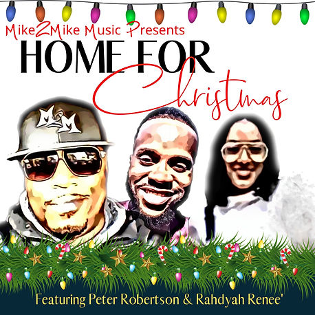 (Tunecore) Home for Christmas Cover Art
