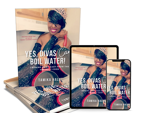 (Physical Book) Cookbook: Yes, Divas Can Boil Water!
