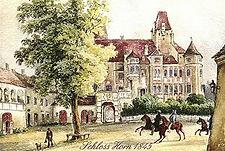 Schloss Horn 1845