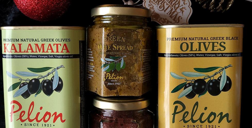 Πακέτο δώρου προϊόντα ελιάς Πηλίου