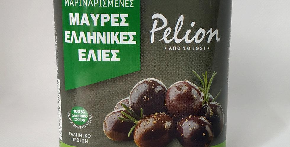 Μαριναρισμένες Μαύρες Ελληνικές Ελιές Pelion