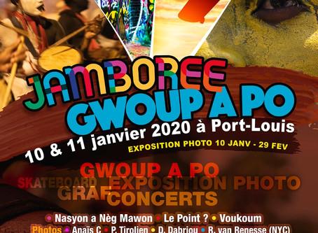 Jamboree : GWOUP A PO le 10 ET 11 Janvier à Port-Louis