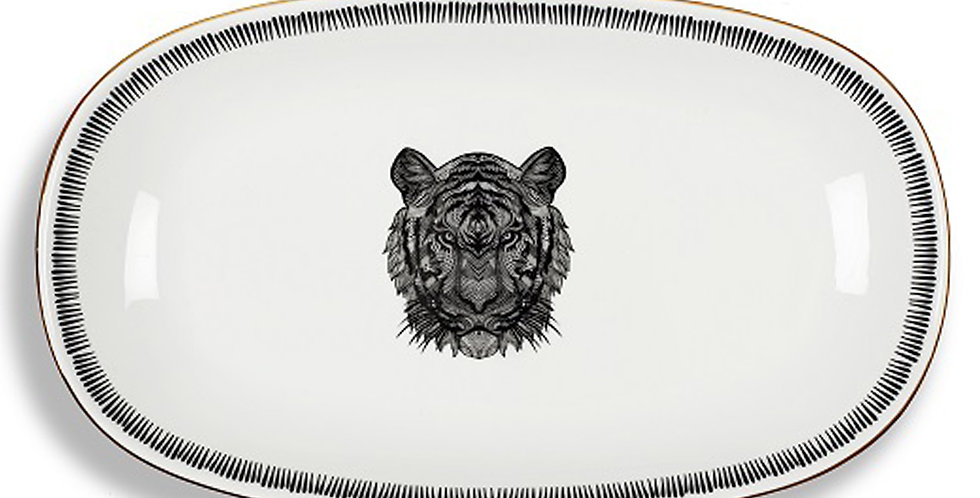 Bold Collection - 29cm Kayık Servis Tabak
