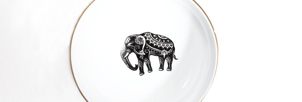 13 cm Fil Figürlü Çorba Kase