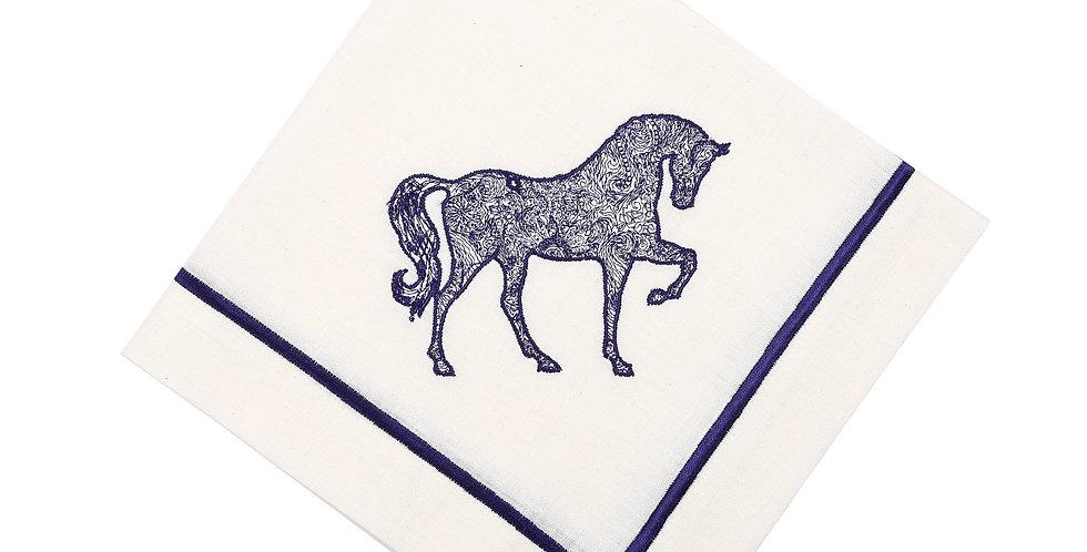 Horse Luck Collection Blue - Peçete