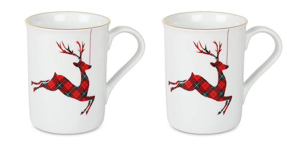 Dear Deer Collection Kupa 2'li set