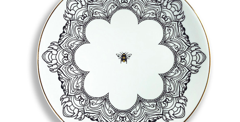 Bee Happy Collection - 23cm Düz Tabak