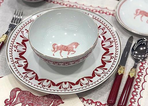 Horse Luck Red At Figürlü Peçete LIFE.jp