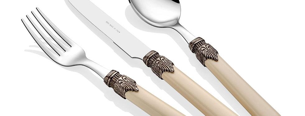 Classic Kemik 24 Parça Çatal Bıçak Seti