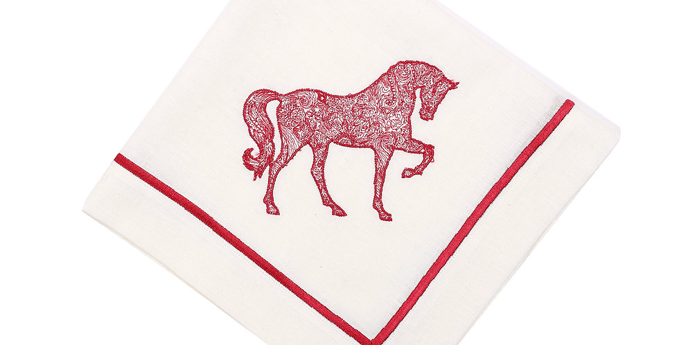 Horse Luck Collection Red - Peçete