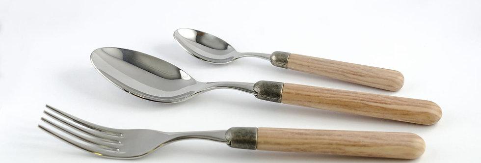 Cortina Meşe 36 Parça Çatal Bıçak Seti