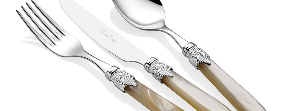 Laura Silver Kemik 75 Parça Çatal Bıçak Seti