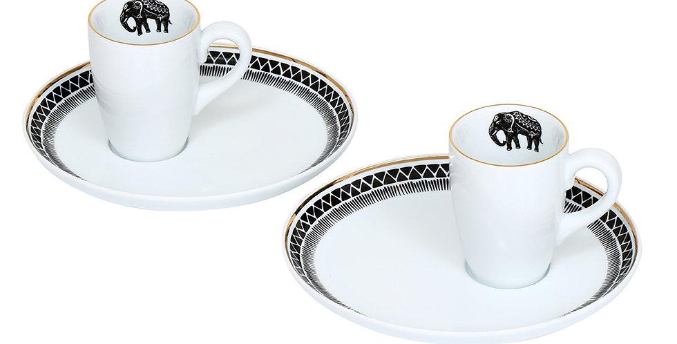 Some Wild Collection - 2'li Kahve Fincan Seti (Espresso)